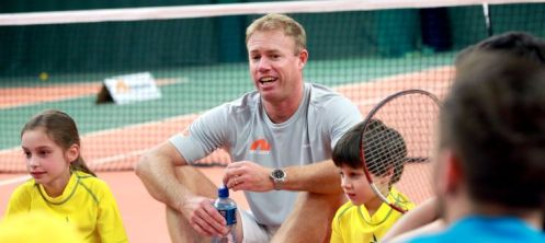 Former GB tennis player & Andy Murray's former coach Mark Petchey