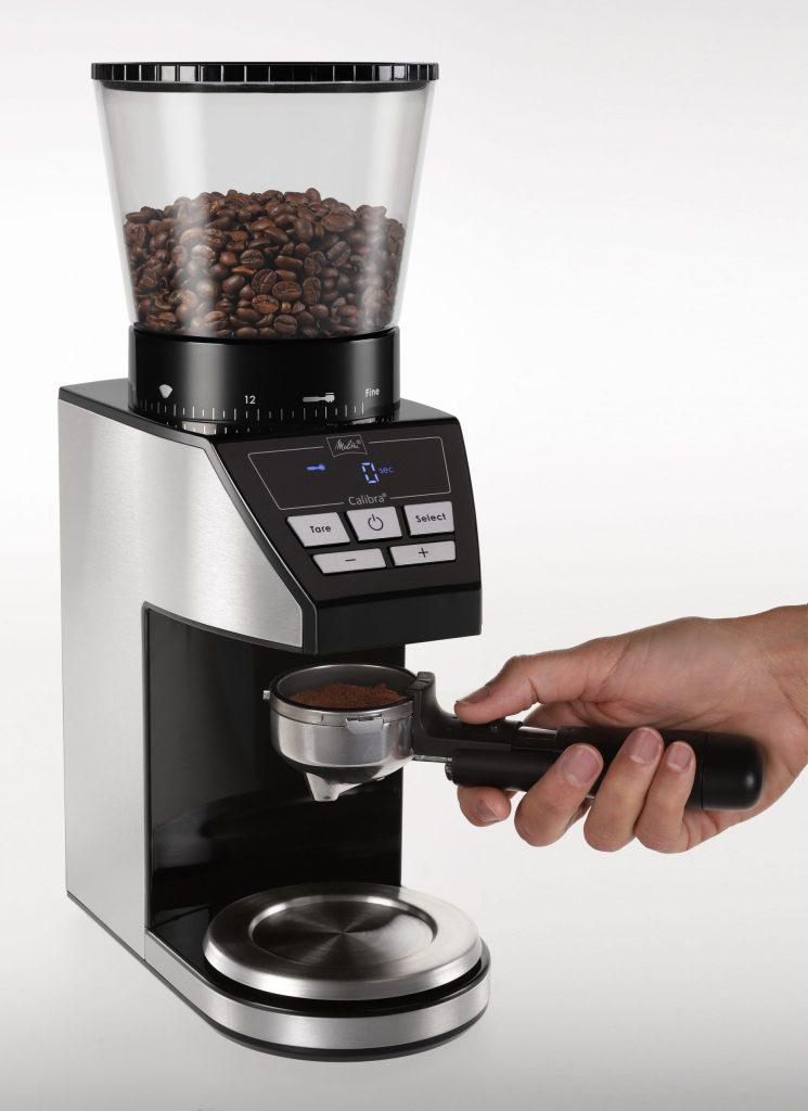 Calibra helps you grind your own coffee.