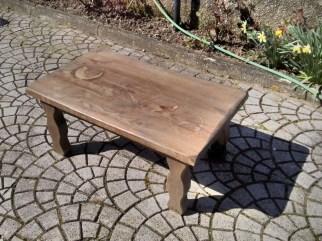 Restiling Cleanup table solid chestnut lamellar