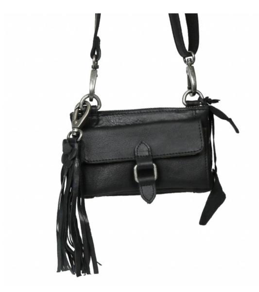 bc000a38ad4 Bag2bag Albury Clutch/ crossbody zwart | Fraai Winkeltje