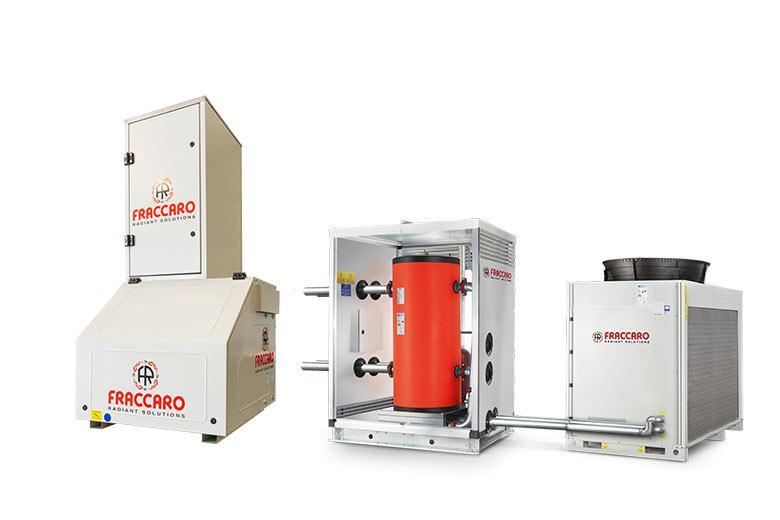 sistema girad hybrid per riscaldamento e raffrescamento industriale