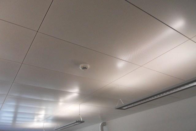 Dettaglio soffitti radianti Fraccaro plaforad