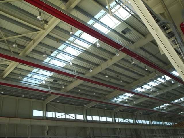 Impianto di riscaldamento installato nello stabilimento Woojin in Corea del Sud