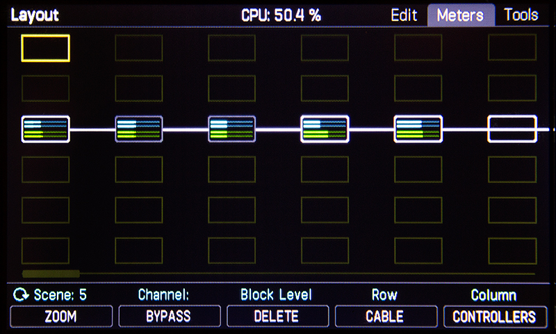 Axe-Fx III Grid Meters
