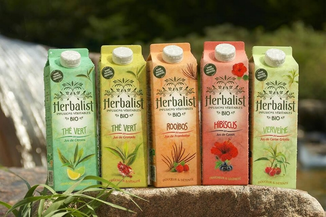 """""""Le secteur de l'agro-alimentaire attire beaucoup de rêveurs. C'est tendance de lancer sa marque de boisson !"""" Caroline Sirch fondatrice de Herbalist"""