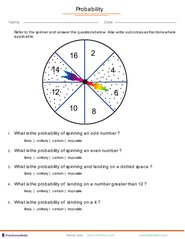 Probability with fractions