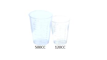 Plastic Disposable Beakers
