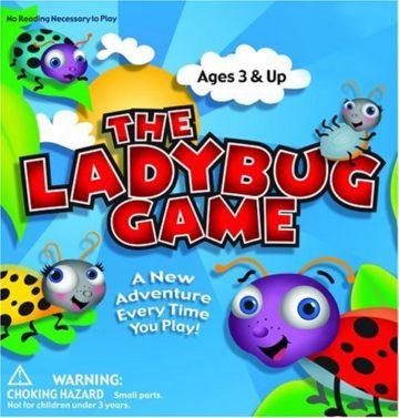 Zobmondo Entertainment The Ladybug Game - educational games