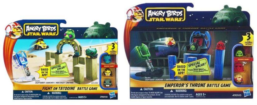 Angry Birds Star Wars Set of 4 Battle Games