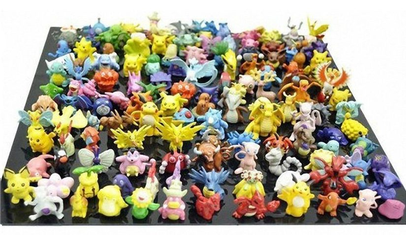 Oliadesign Complete Set of Pokémon Action Figures
