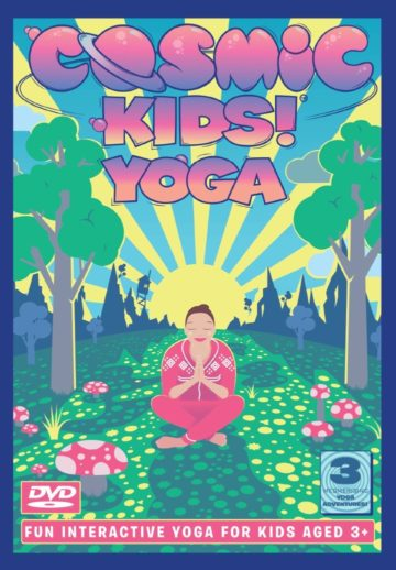 Cosmic Kids Yoga - Series 1 DVD - yoga for kids