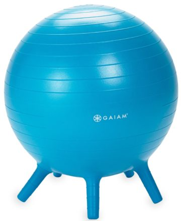 Gaiam Kids Stay-N-Play Balance Ball - yoga for kids