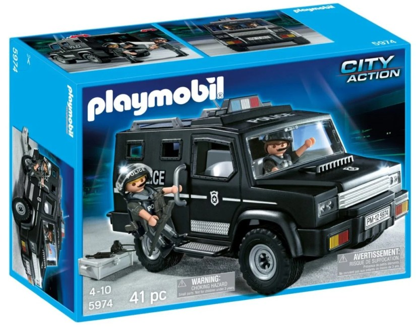 Playmobil Tactical Unit Car