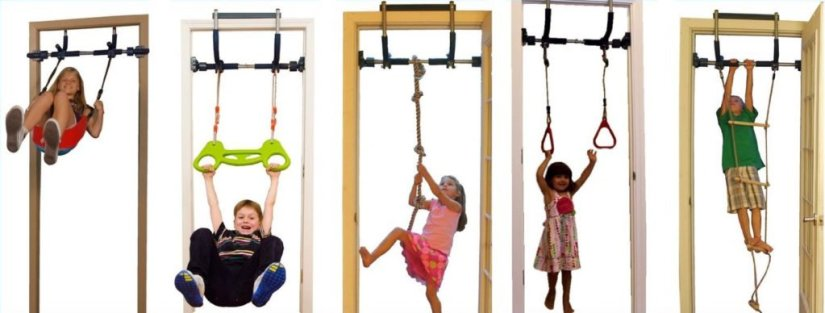Gorilla Gym Kids Deluxe with Indoor Swing
