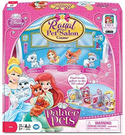 Princess Palace Pets Royal Pet Salon Game - games for girls