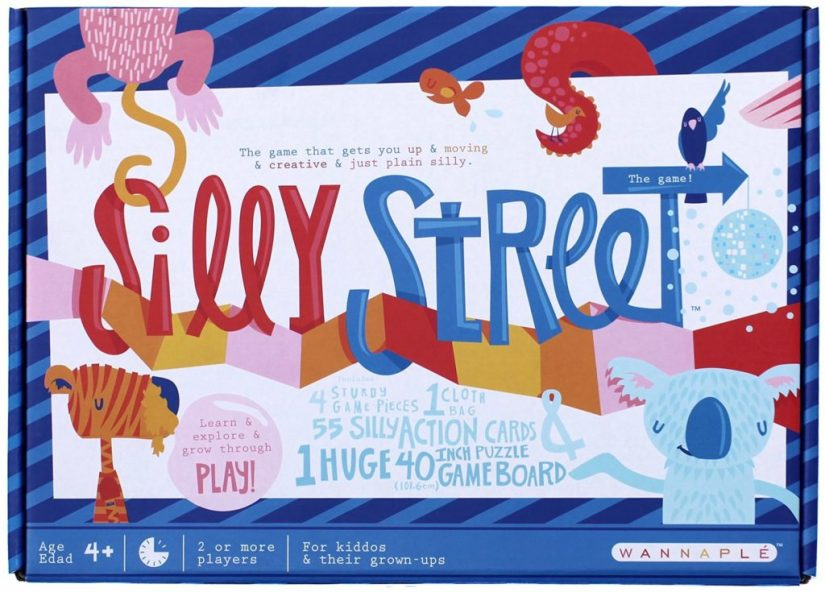 Silly Street the Game - games for girls
