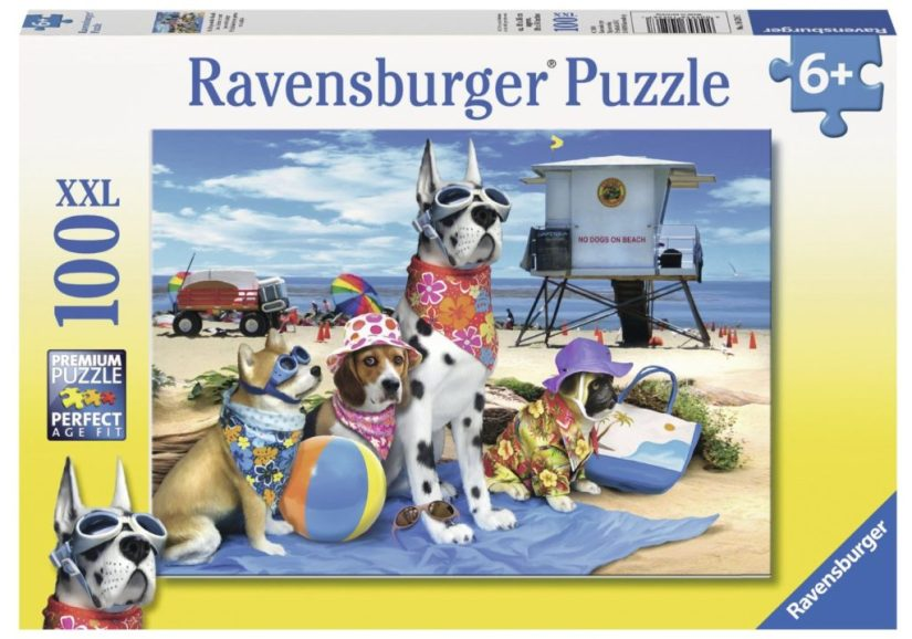 Ravensburger No Dogs on The Beach Puzzle - jigsaw puzzles
