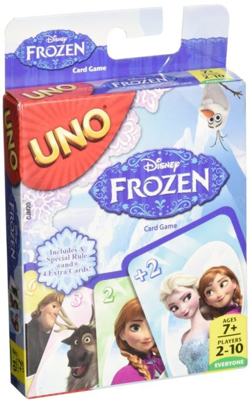 Disney Frozen UNO Card Game - games for girls