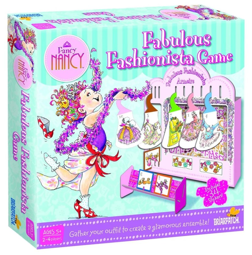 Fancy Nancy Fabulous Fashionista Game - games for girls