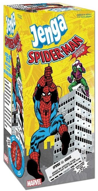 Spiderman Jenga