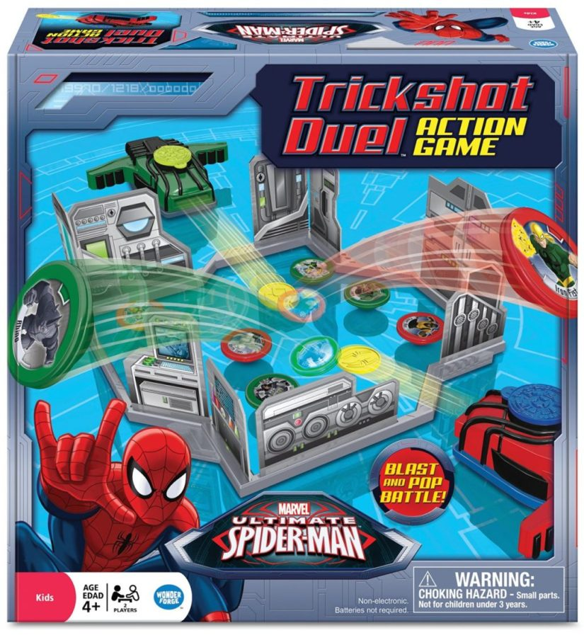 Spiderman Trick Shot Duel Action Game