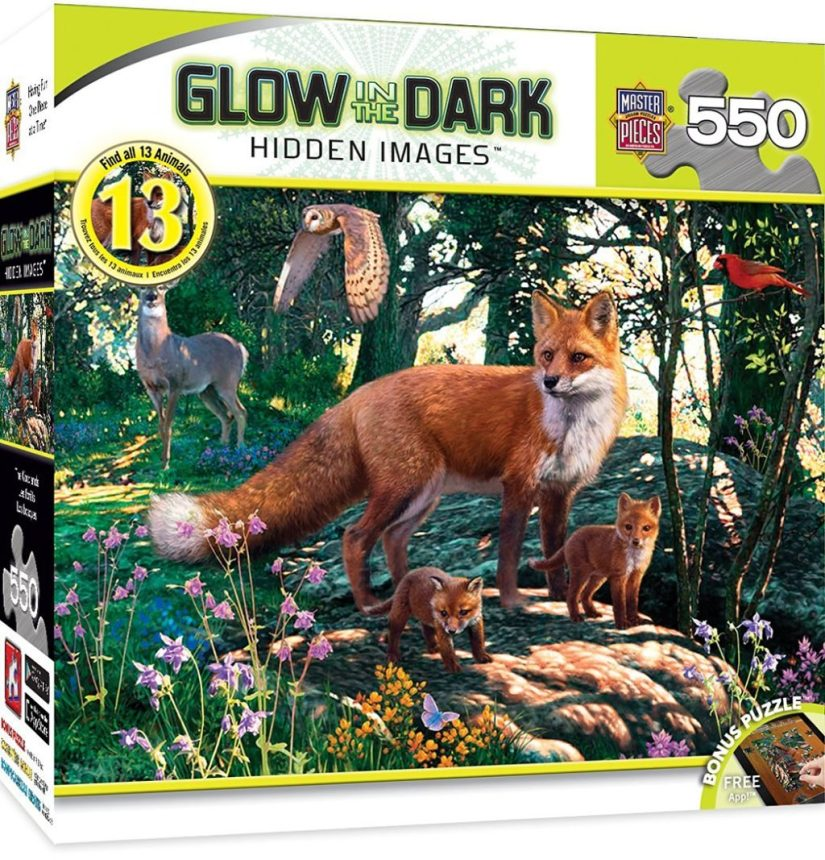 MasterPieces Hidden Image Glow Collection The Woodlands Puzzle - jigsaw puzzles