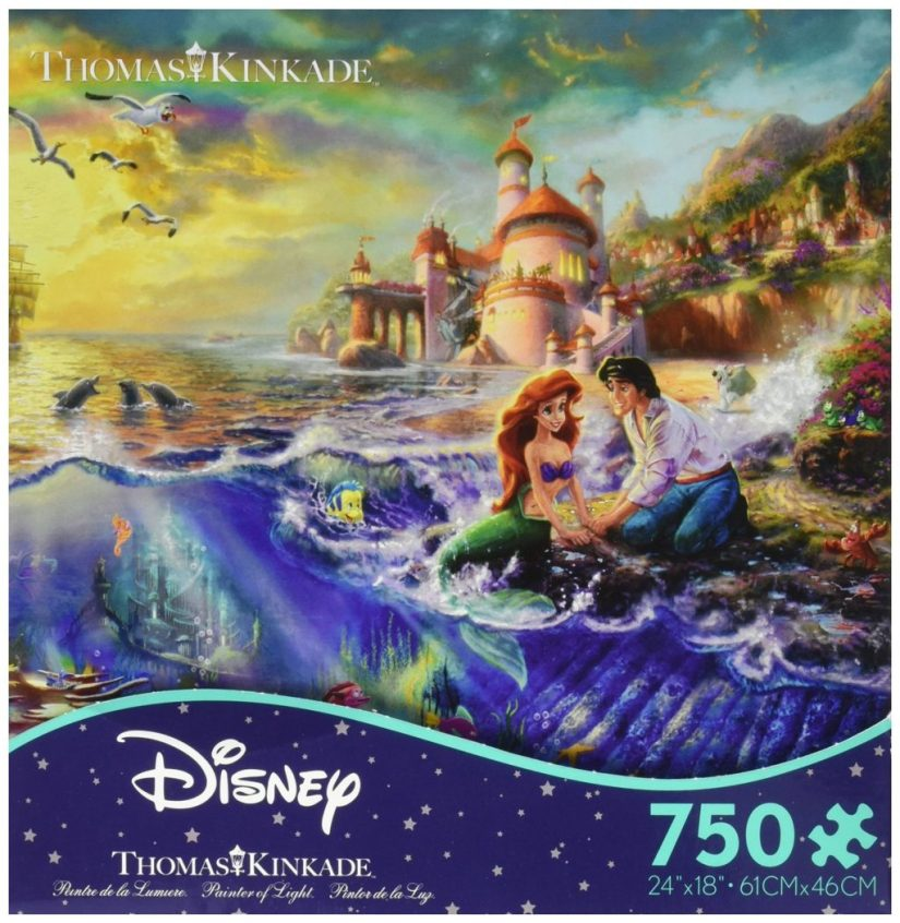 Ceaco Thomas Kinkade The Disney Dreams Collection The Little Mermaid - jigsaw puzzles