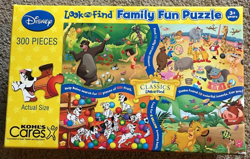 Disney Classics Look and Find - jigsaw puzzles