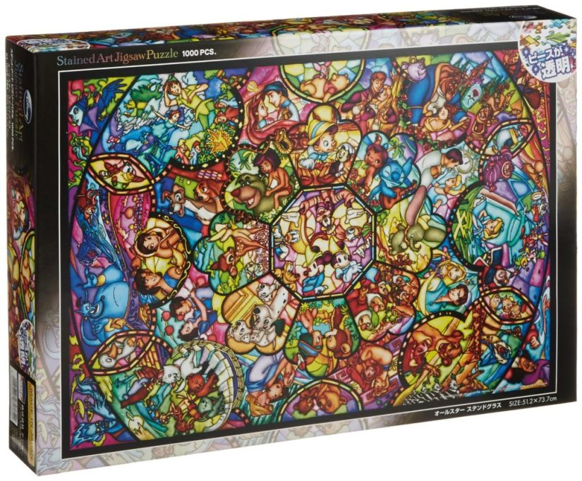 Disney Stained Art Jigsaw Puzzles