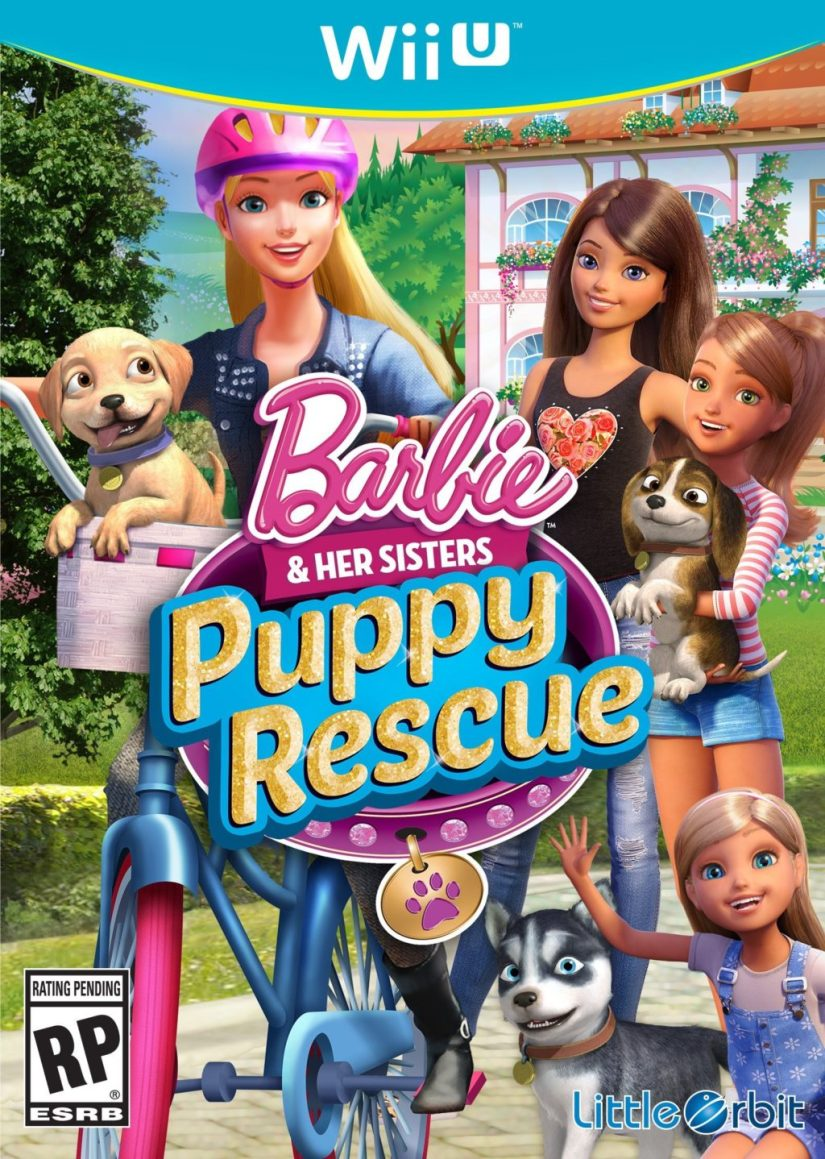 Barbie and Her Sisters Puppy Rescue - Wii U