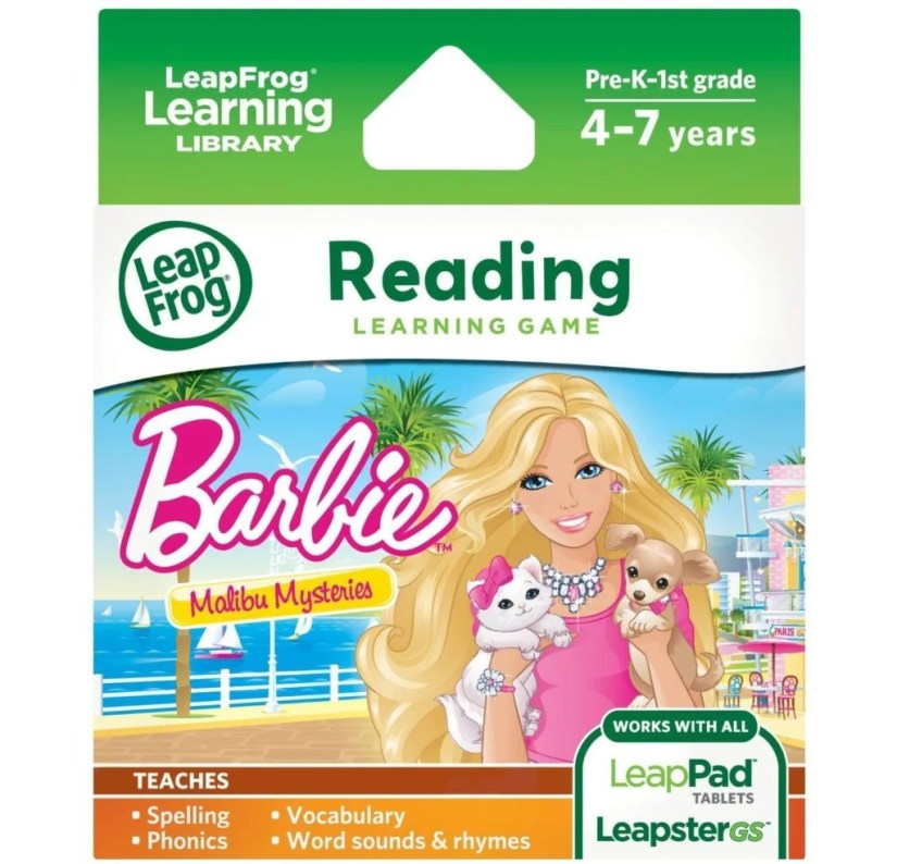 LeapFrog Learning Game Barbie Malibu Mysteries