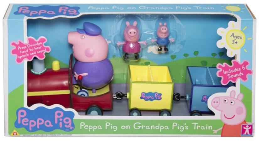 Peppa Pig Grandpa Pigs Train