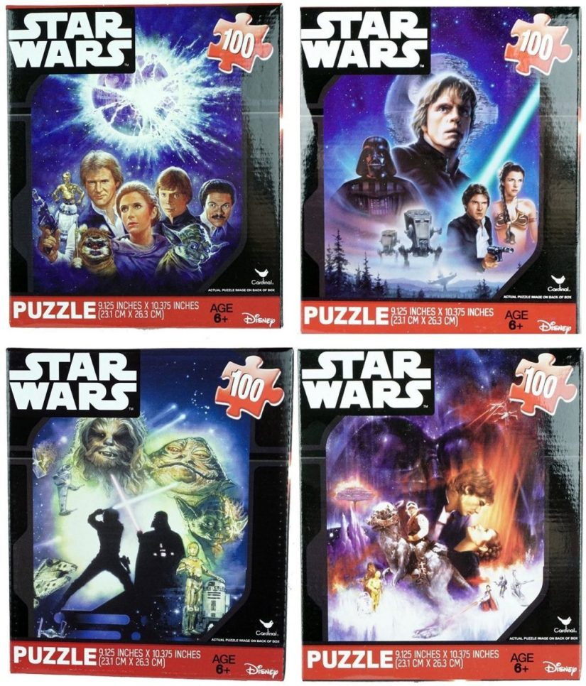 Star Wars Classic Original 100 Piece Jigsaw Puzzles