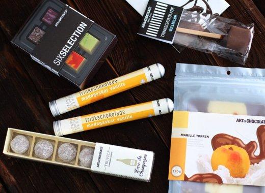 Geschenkideen für Weihnachten - Süßes aus der Schokoladenmanufaktur