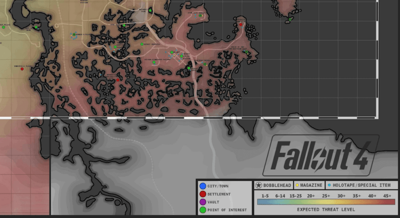 Fanmade Fallout 4 Map is Unbelievably Well Detailed
