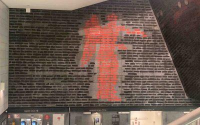 L'incancellabile Vittoria Metro Stazione FS Emilio Isgrò