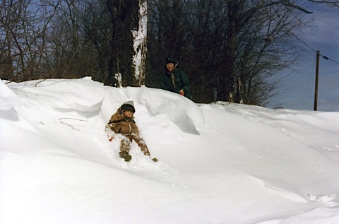 Our kids remember early 80s snows like this