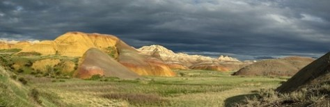 Only Badlands View thru Binocs from Rapid this trip