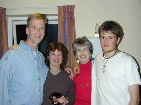 The Firsts: Fred, Ann, mother Betty and Nathan in Belfast