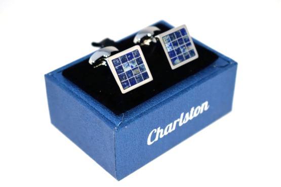 Charlston Siniset Kalvosinnapit