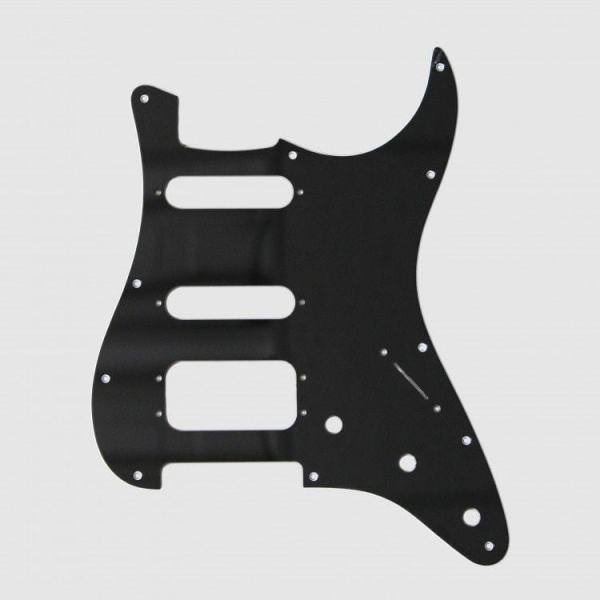 Fralin 4 Split Blade Pickguard Black