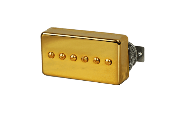 Lindy Fralin Gold P-90 In A Humbucker Cover