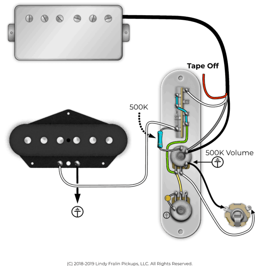 Using Resistors In Guitars 101 Lindy Fralin Pickups Tele P90 Single Coil Wiring Diagram How To Wire It Up