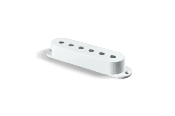 Fralin White Strat Pickup Cover