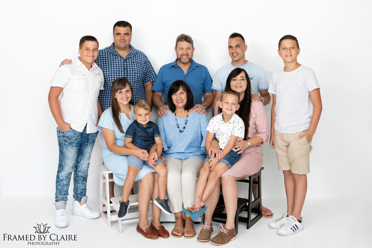 Cape Town generation family photos