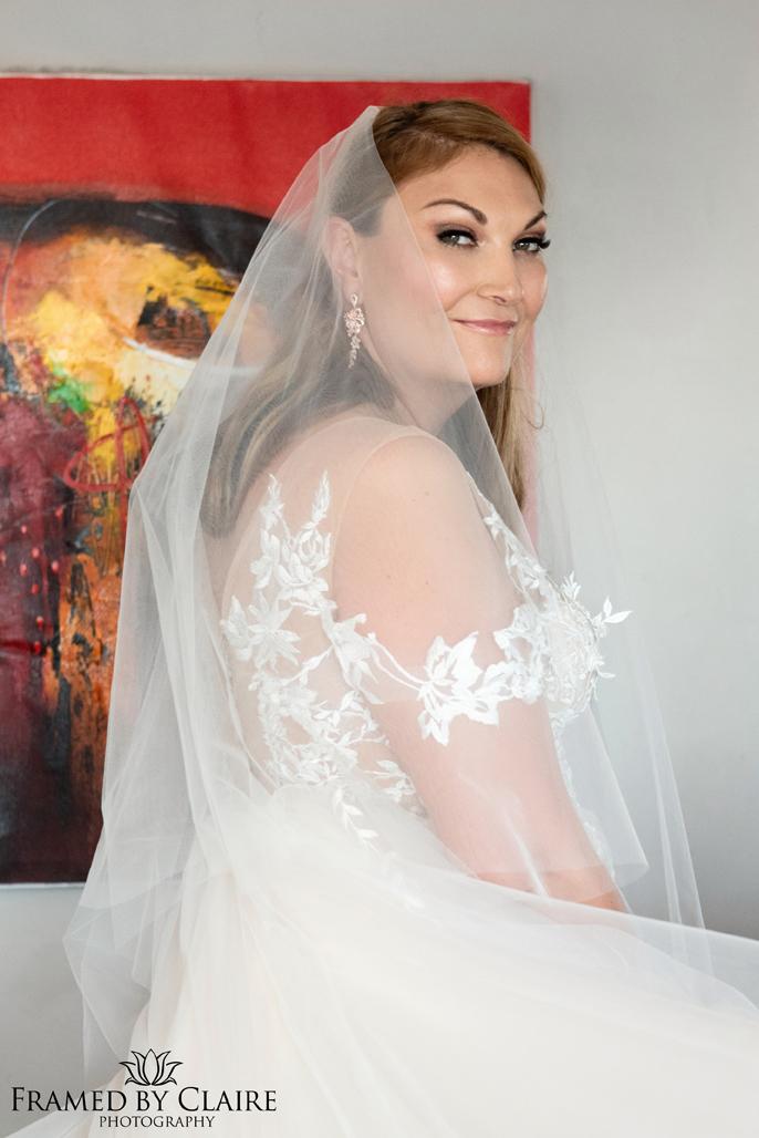 Wedding in Langebaan bride