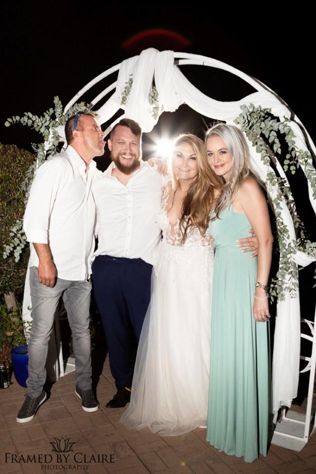 Wedding in Langebaan family