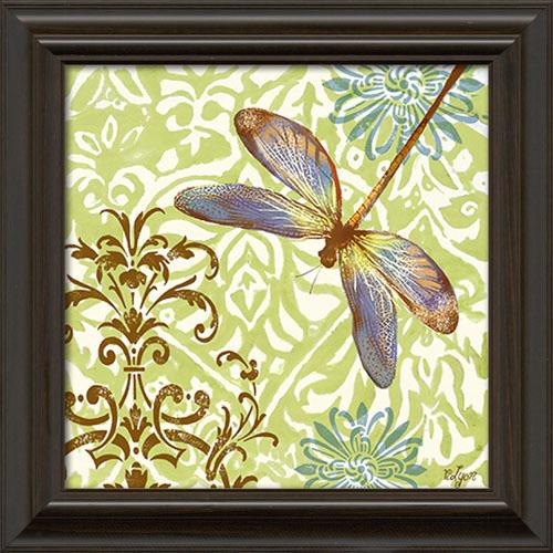 Dragonfly Framed Canvas Art
