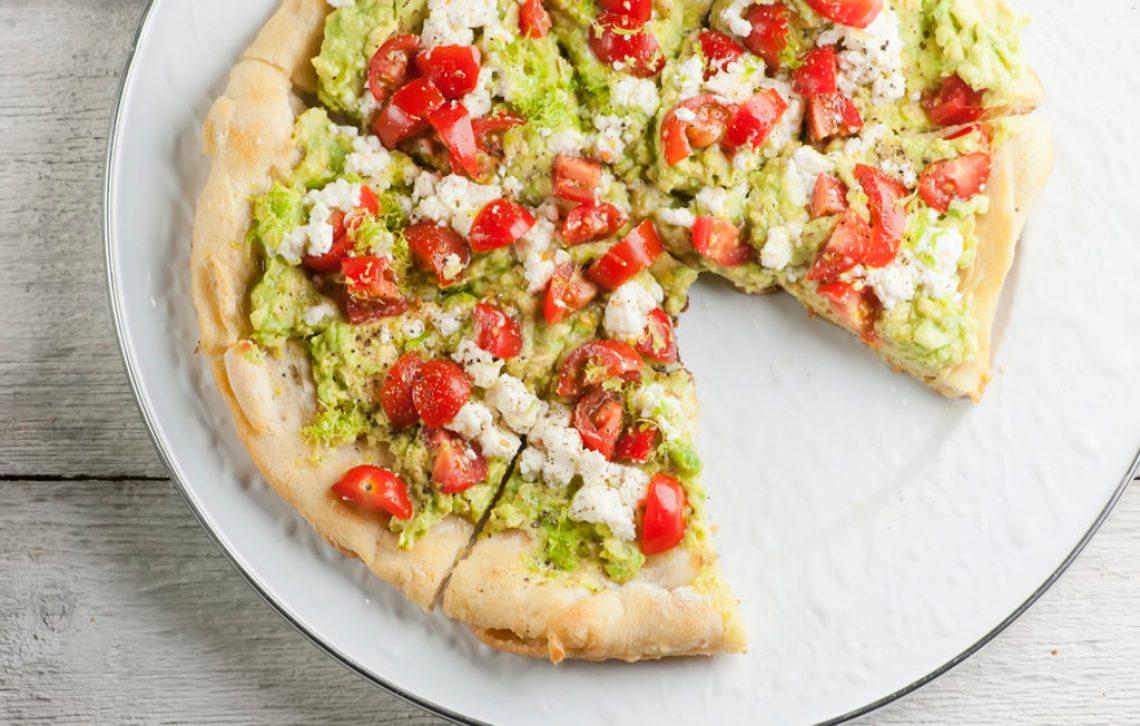 avocado toast pizza