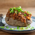 easy sloppy joe baked potatoes